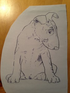 Sketch Dog Wilkin