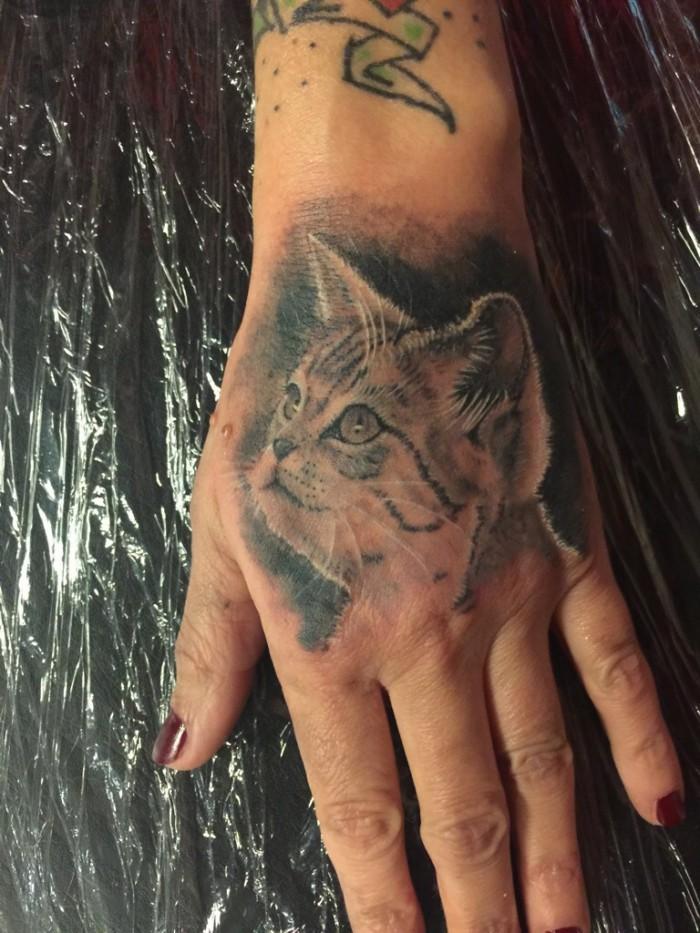 Pussy cat Tattoo